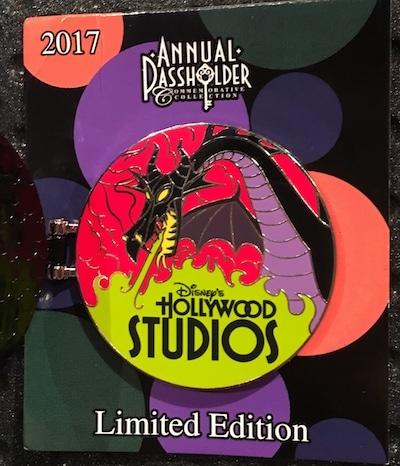 WDW Passholder Hollywood Studios Pin 2017