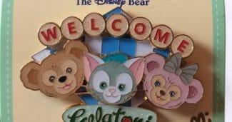 Welcome Gelatoni Shanghai Disney Pin