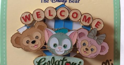 Welcome Gelatoni Shanghai Disney Pin