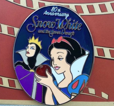 snow white movie pin