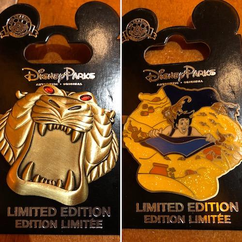 Aladdin 25th Anniversary Pin