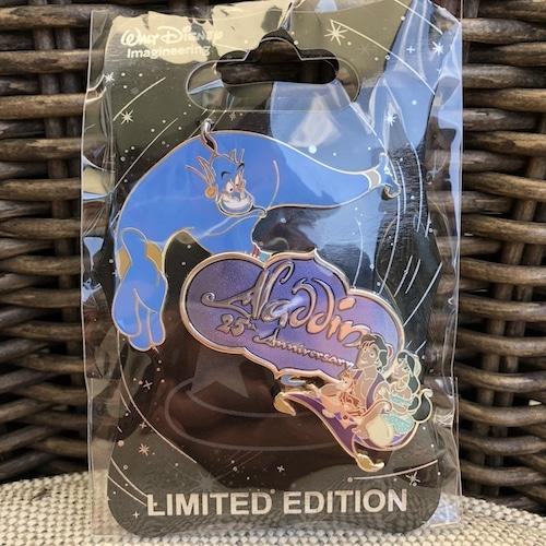 Aladdin 25th Anniversary WDI Pin