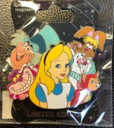 Alice Cluster Pin