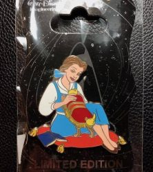 Belle and Footstool WDI pin
