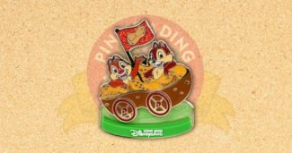Chip and Dale Carousel Limited Edition Pin