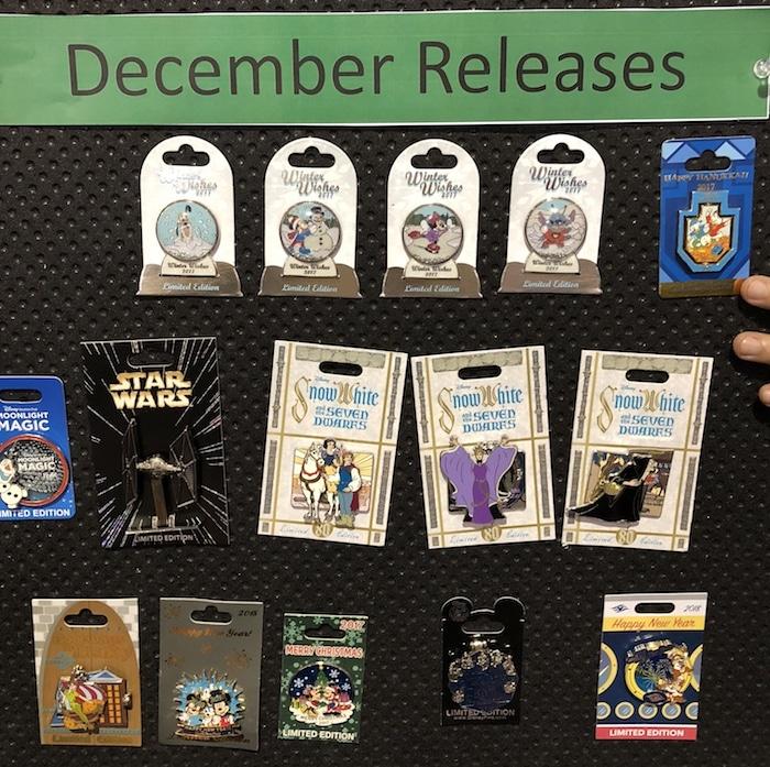December 2017 Pin Previews