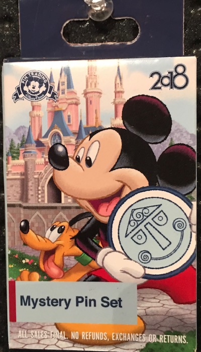 Disney Parks 2018 Mystery Pin Set