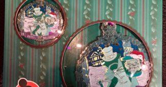 Disneyland Happy Holidays 2017 AP Pin Set