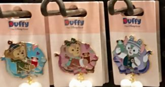 Duffy Bear and Friends - Winter Pins