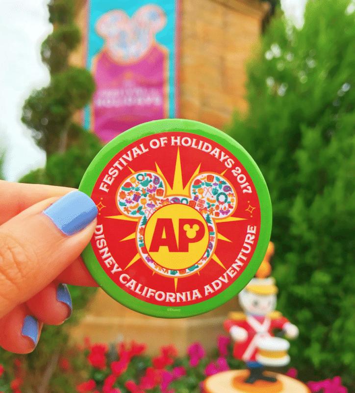 Festival of Holidays 2017 AP Pin