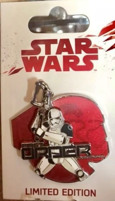 First Order Pin - The Last Jedi - Disney Parks