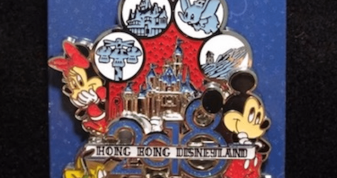 HK 2018 Pin