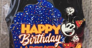 Happy Birthday Mickey WDI Pin
