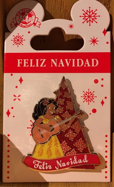 Holiday Elena of Avalor Pin