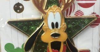Holiday Pin 2017 - Pluto