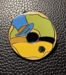Jiminy Cricket Donut Pin