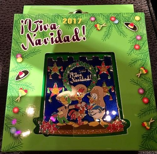 Jumbo Viva Navidad 2017 Disney Pin