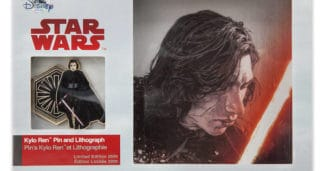 Kylo Ren Pin – Star Wars The Last Jedi at shopDisney