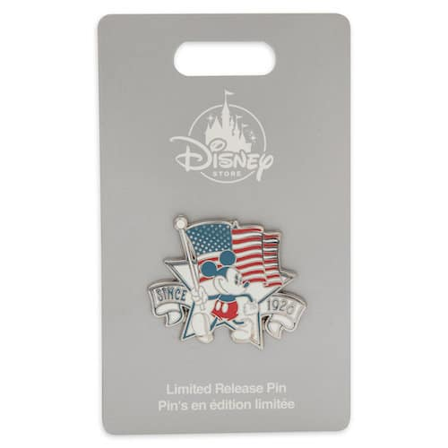 Limited Release American Mickey Pin - shopDisney