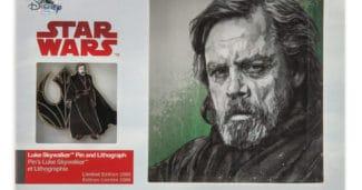 Luke Skywalker Pin – Star Wars The Last Jedi at shopDisney
