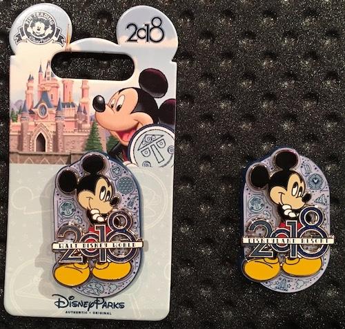 Mickey Mouse 2018 Logo Pin
