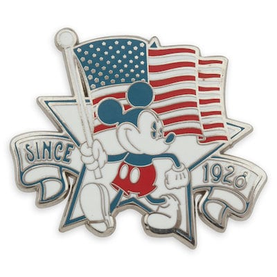 Mickey Mouse Americana Pin