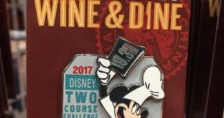 Mickey Two Course Challenge - Marathon 2017 Pin