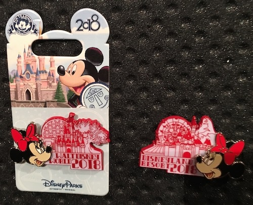 Minnie Mouse 2018 Logo Pin