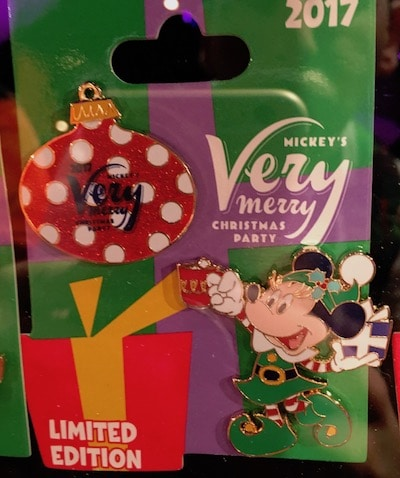 Minnie Mouse and Ornament Pin Set - MVMCP 2017