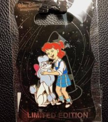 Penny and Georgette WDI Pin