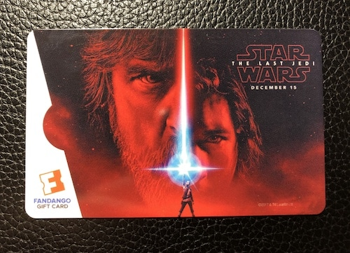 Star Wars Gift Card