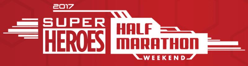 Super Heroes Half Marathon Weekend 2017