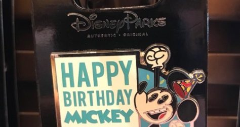 Surprise Mickey Birthday Pin 2017