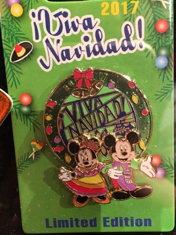 Viva Navidad 2017 Disney Pin