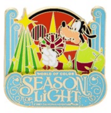 World of Color Season of Light 2017 Pin