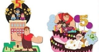 Wreck-It Ralph 5th Anniversary Pins