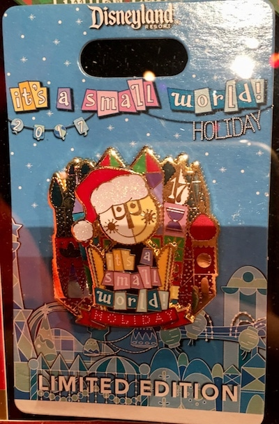 it's a small world Holiday 2017 Disney Pin