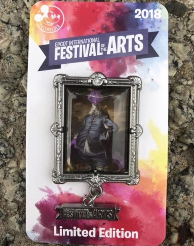 Annual Passholder Exclusive Festival of Arts Pin