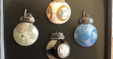 BB Droid Pin Set - Star Wars The Last Jedi