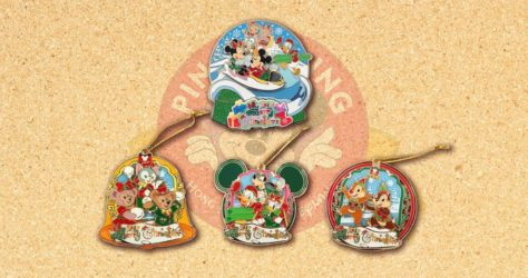 Christmas 2017 Pin Series - HKDL
