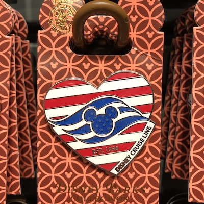 Disney Cruise Line American Heart Pin