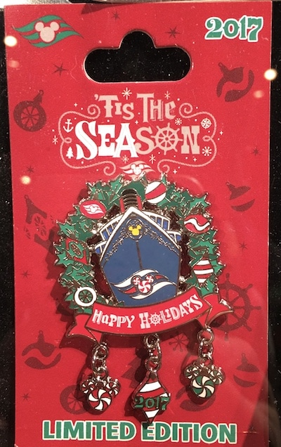 Disney Cruise Line Holiday 2017 Pin