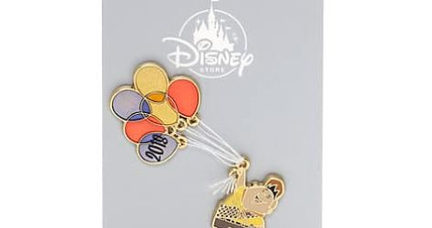 Disney Store UK New Year 2018 Pin