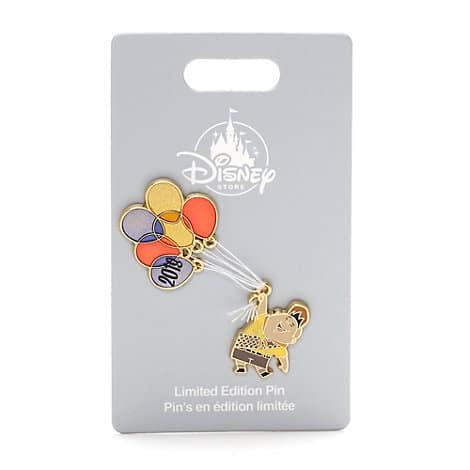 Disney Store UK New Year 2018 Pin