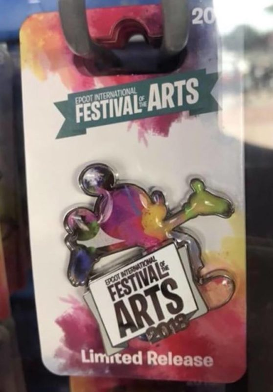 Festival of Arts Logo Pin
