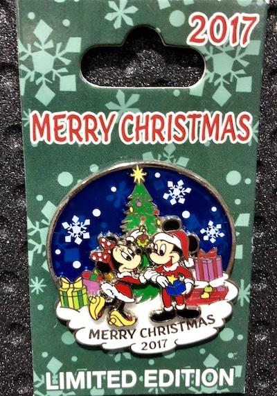 Merry Christmas 2017 Disney Pin