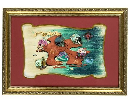 Neverland Framed Pin Set