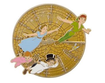 Peter Pan's 65th Anniversary Jumbo Pin