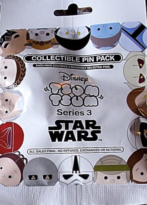 Star Wars Tsum Tsum Series 3 Pin Pack