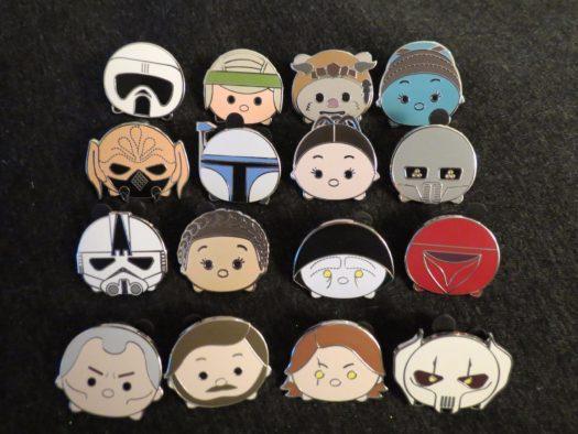 Star Wars Tsum Tsum Series 3 Pins
